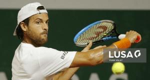 Tenista João Sousa no ATP Tour em Miami
