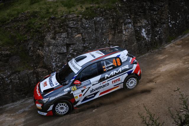 Alejandro Cachón - Peugeot Rally Cup Ibérica - Aboboreira