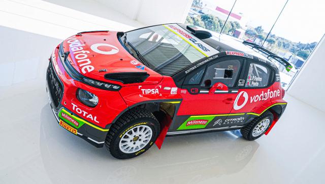 C3 Rally2 - Citroen Vodafone Rally Team