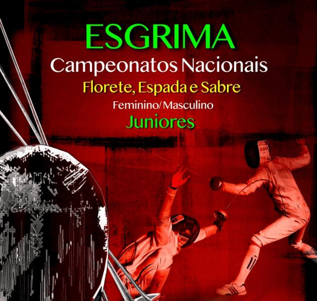 Esgrima - CN Júniores - Florete, Espada e Sabre