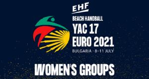 Euro 2021 - Yac 17 - Feminino
