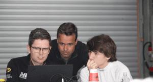 Manuel Espírito Santo com Pedro Lamy - Fórmula 4 Espanha