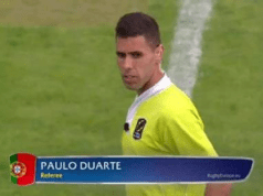 Paulo Duarte - Árbitro de Râguebi
