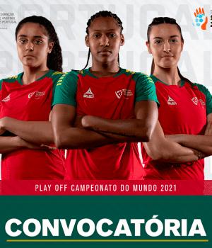 Convocatória para os Play-off do Mundial de Andebol 2021