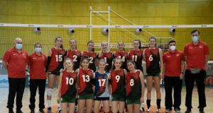 Selecção Sub16 Feminina de Voleibol