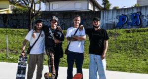 Skateboarding - Estágio da Selecção no Luso