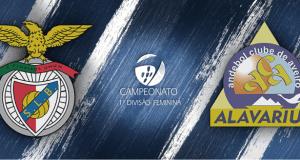 Benfica vs Alavarium - Andebol Feminino
