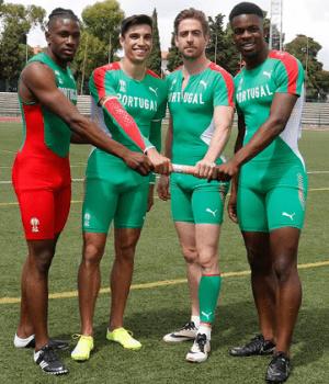 Delvis Santos, Frederico Curvelo, Diogo Antunes, André Prazeres - Estafetas