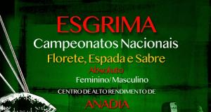 Esgrima - CN Séniores 2021 - Florete, Espada e Sabreto