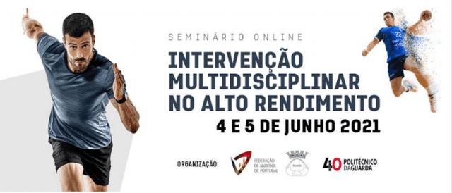Intervenção Multidisciplinar no Alto Rendimento - Seminário Online