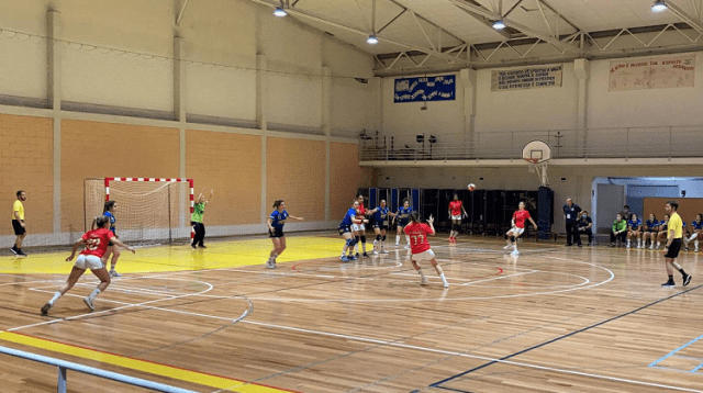 Madeira SAD vs SL Benfica - Andebol Feminino