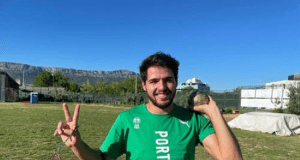 Rúben Antunes - Taça da Europa de Lançamentos 2021