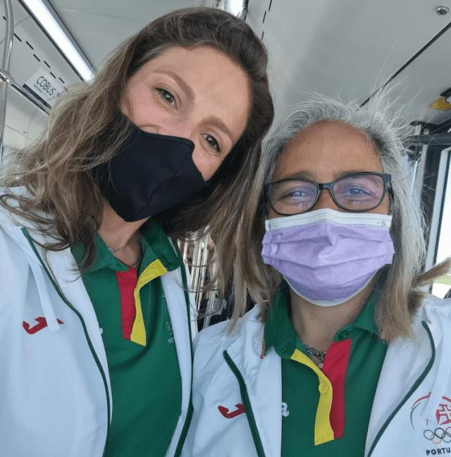 Sandra Deveza e Maria Michelle Ferreira - Árbitras de Voleibol de Praia