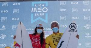 Teresa Bonvalot e Vasco Ribeiro - Liga MEO Surf 2021