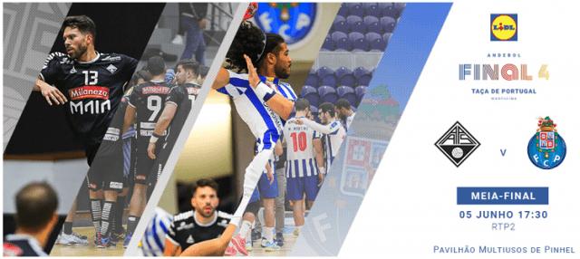 Final 4 Andebol - Águas Santas x FC Porto