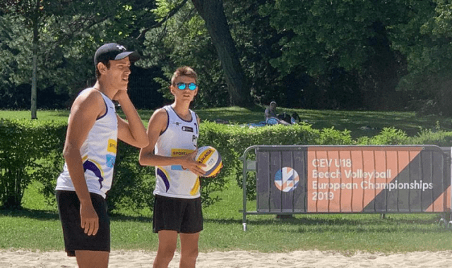 Guilherme Maia e Filipe Leite - Voleibol de Praia