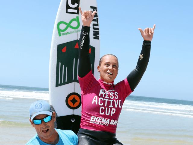 Yolanda Sequeira - Surfista