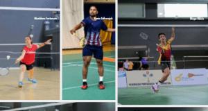 Badminton - 5 atletas treinam no BEC CoE (Dinamarca)
