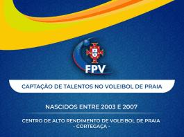Captação de Talentos - Voleibol de Praia