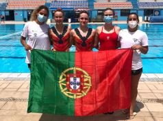 Europeu de Natação Artística 2021 - Equipa Portuguesa em Malta