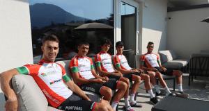 Fábio Fernandes, António Morgado, Gonçalo Tavares, João Almeida e Rafael Reis - Europeu de Estrada 2021 - Trento