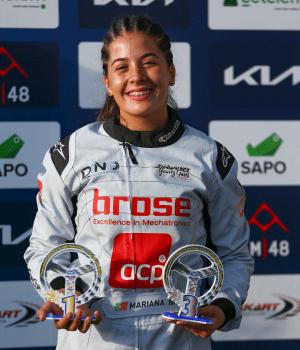 Mariana Machado - Naional de Karting 2021 - Bombarral