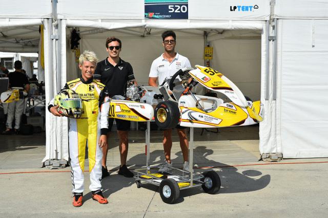 Noah Monteiro - CIK FIA Academy Trophy