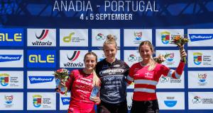 Taça da Europa de BMX 2021 - 6ª Ronda - Pódio Mulheres