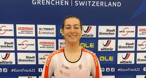 Daniela Campos - Europeu de Pista 2021 - Grenchen