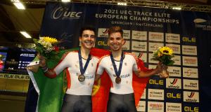 Iuri Leitão e Rui Oliveira - Europeu de Pista 2021 - Grenchen