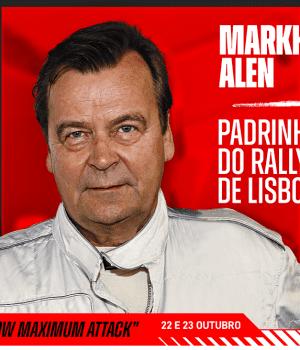Markku Alen - Padrinho do Rally de Lisboa 2021
